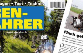 """Magazin """"Tourenfahrer"""": Flach gelegter Luftikus"""