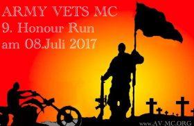 Airtrailer beim Army Vets Honour Run
