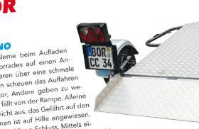 """Der Airtrailer im Magazin """"Motoretta"""""""