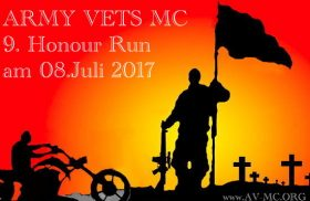 Airtrailer beim Army Vets Honour Run